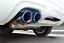 thumbnail 6 - 2pcs Blue Exhaust Muffler Tail Pipe Tip Tailpipe for VW Golf GTI 7 MK7 2013-2021
