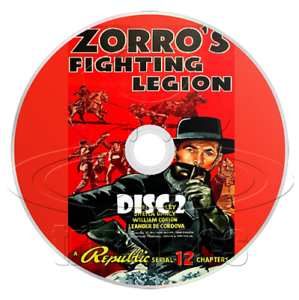 Zorros Fighting Legion 1939 Complete 12 Chapter Serial