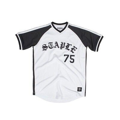 $58 Staple Uomo Logo T-shirt Da Baseball (bianco) 2019 Ultima Vendita Online Stile 50%
