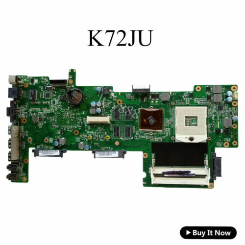 K72JU Motherboard For Asus K72J K72JR K72JT Laptop Mainboard 60-N0IMB1100