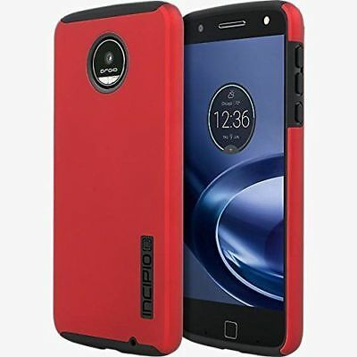 free shipping 6ccbc 4b04f Incipio DualPRO Case Motorola Moto Z3 Play Iridescent Red - NEW | eBay
