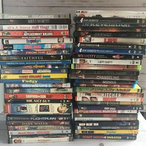 Lot Of 50 Dvds Movies Blockbuster Titles All In Original Cases Ebay