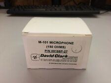 ORIGINAL DAVID CLARK MODEL M-7//DC MICROPHONE p//n 09168P-31  Authorized Dealer
