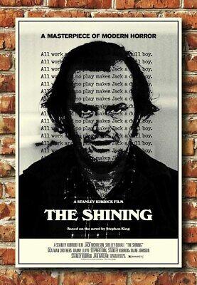 14x21 24x36 Poster The Shining Classic Movie 1980 Horror Art Silk G119