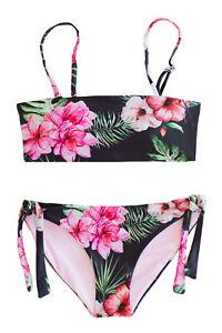"/""Chance Loves/"" Girls Bikini Two Piece Triangle Bikini Swimsuit SET Girls 8-11"