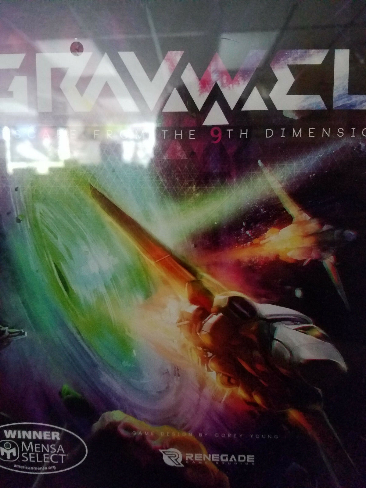 Gravwell: Escape From The 9. Dimension - Brettspiel Awesome Games Neu Nib