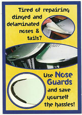 SNOWBOARD NOSE GUARD Kit, Tip & Tail Protector, Great Item for Snowboards, White