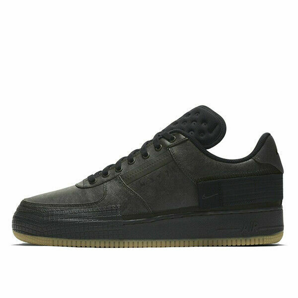 Size 9 - Nike Air Force 1 Type Black Gum 2020 for sale online | eBay