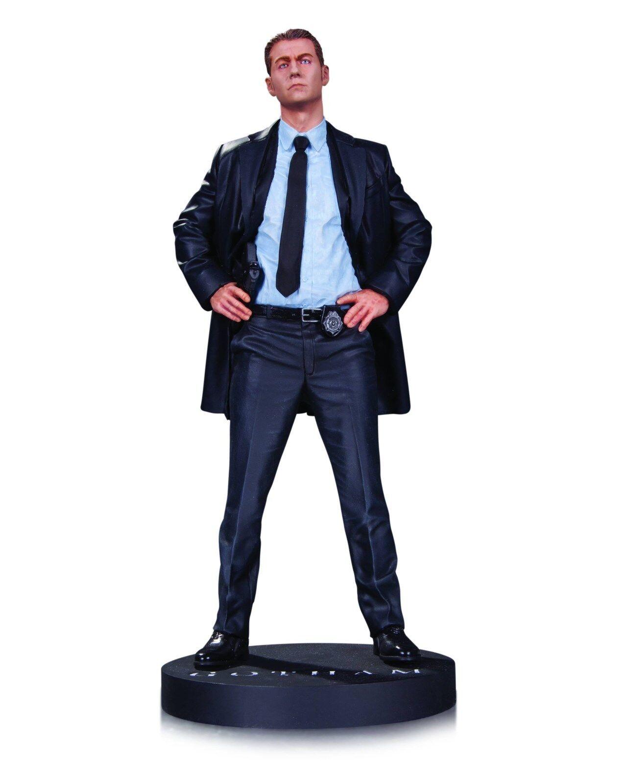 Gotham tv - kommissar james gordon statue von dc sammlerstcke