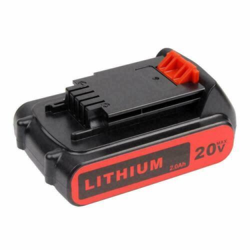 For Black+Decker LBXR20 Cordless BL1518 BL2018 18Volt 3.0Ah Li-Ion Slide Battery