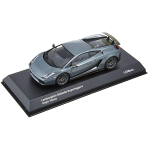 Kyosho – 1 43 Scale – Lamborghini Gallardo Superleggera in Grey Metallic