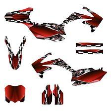2010 2011 2012 2013 CRF 250 R graphics Honda 250R sticker kit NO2500 Red