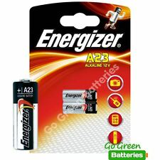 2 x Energizer A23 12V Alkaline Batteries MN21 23A LRV08 E23A K23A 8LR23 V23GA