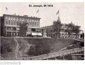 1916 St  Joseph, MI Whitcomb Hotel Refrigerator / Tool Box