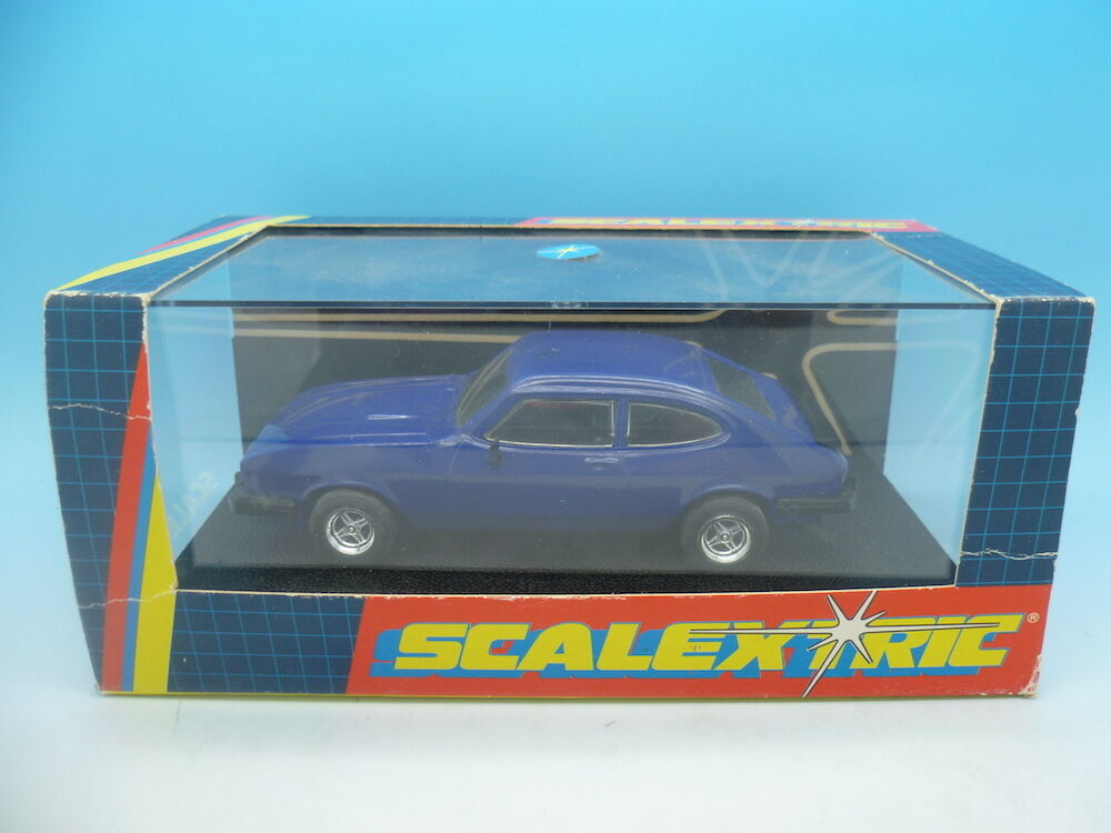 Scalextric C2060 Capri 3.0s bluee Limited Edition of 1000