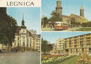 AK, Legnica, Liegnitz, trzy ilustracje, drei Abb., 1970