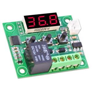 W1209-Digital-Thermostat-12V-Temperaturanzeige-Temperaturregler-Schalter-Sensor