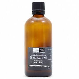 100ml Peppermint 100% Pure Essential Oil - Mentha piperita - Aromatherapy