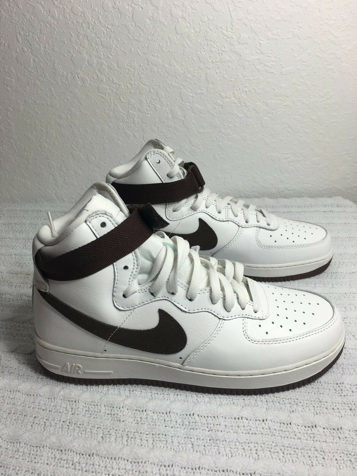 790082586b0f Nike Basketball Shoes Air Force 1 Hi Retro QS Mens US Size 11 White ...