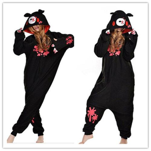 Unisex Adult Animal Pajamas Kigurumi Cosplay Sleepwear Suit Costumes Jumpsuits
