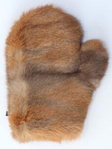 Fur Glove Wellness Rabbit Massage Cuddle Erotic Thuringian Natural Braun Grey