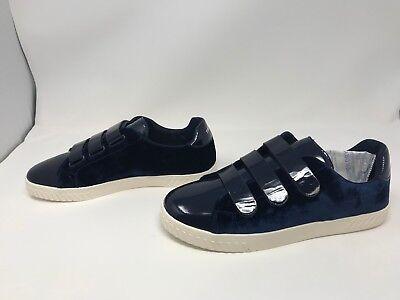 Size 6 Blue Midnight Velvet Patent Tretorn Women/'s Carry4 Sneaker