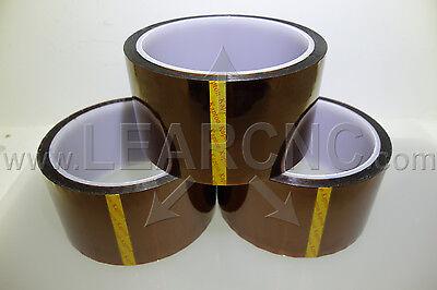 LearCNC 50mm x 33m Kapton Polyimide Tape for RepRap Prusa Mendel 3D Printer