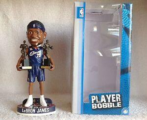 innovative design 47fdf 19e06 Lebron James 2009 / 2010 MVP TROPHY Blue Jersey Bobble ...