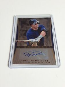 2013-Panini-Select-Troy-Tulowitzki-Auto-TT-Baseball-Autograph-L-K