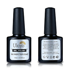SCULTURA 10ml NO pulire TOP COAT PER SOAK OFF UV Gel Smalto Gelpolish Base Coat
