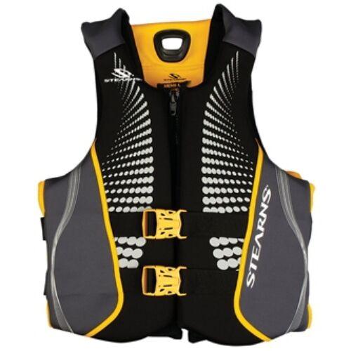 Schwimmweste V1 Serie Hydroprene HERREN Groß Gold Rush STEARNS013906 Stearns