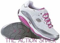 E16 • Skechers Shape-ups Kinetix Response Shoes • Womens 8.5 Pink • 26570