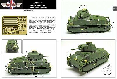 S-Model PS720135 1//72 SOMUA S35 Cavalry Tank