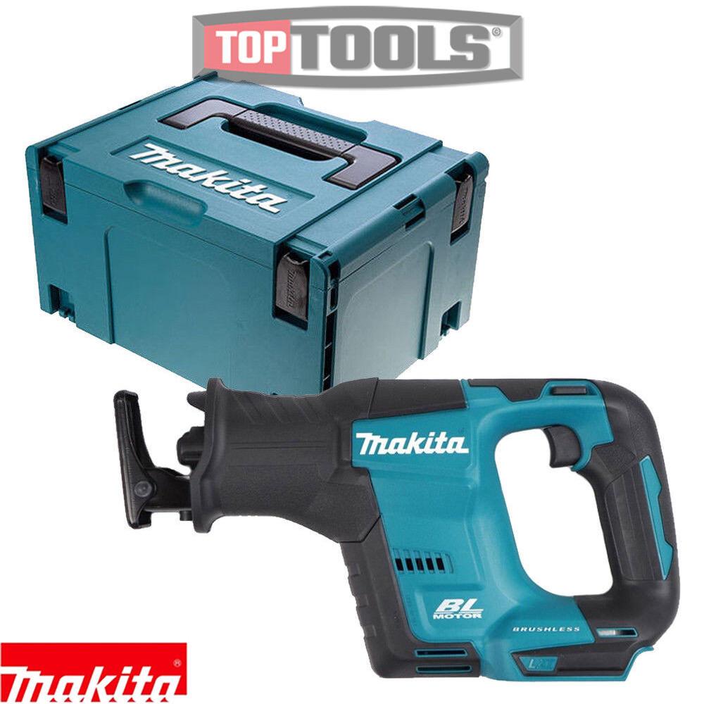 Makita DJR188Z 18V Brushless Cordless Reciprocating Saw + Type 3 case & Inlay