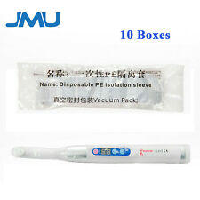 1000pcs 10boxes Disposable Pe Isolation Sleeves For Dental Curing Light 15x8