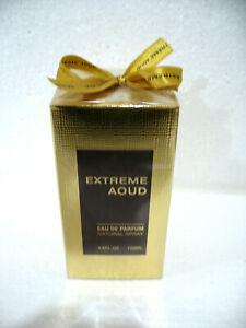 EXTREME AOUD by Fragrance World Eau de Parfum Spray 100ml / 3.4fl.oz. SEALED BOX