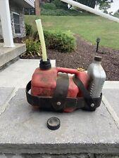Blitz 1 Gallon Gas Can Chainsaw Set Up