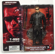 McFarlane Toys T3 Movie T-850 Schwarzenegger Terminator Action Figure New 2003