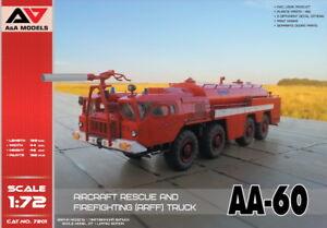 A-amp-a-modelli-1-72-AA-60-aerei-soccorso-e-antincendio-ARFF-Camion-7201