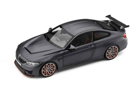 Original BMW m4 GTS f82 1 18 voiture miniature Frozen dark gris miniature 80432411555