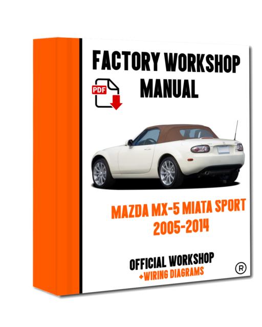 Tremendous Official Workshop Manual Service Repair Mazda Mx 5 Miata Sport 2005 Wiring Digital Resources Nekoutcompassionincorg