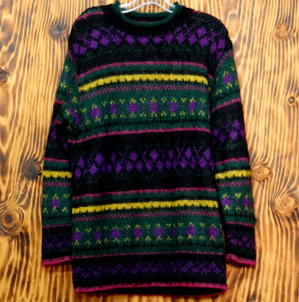 United Colors of Benetton Sweater Mohair Sweater Multi Color Stripes