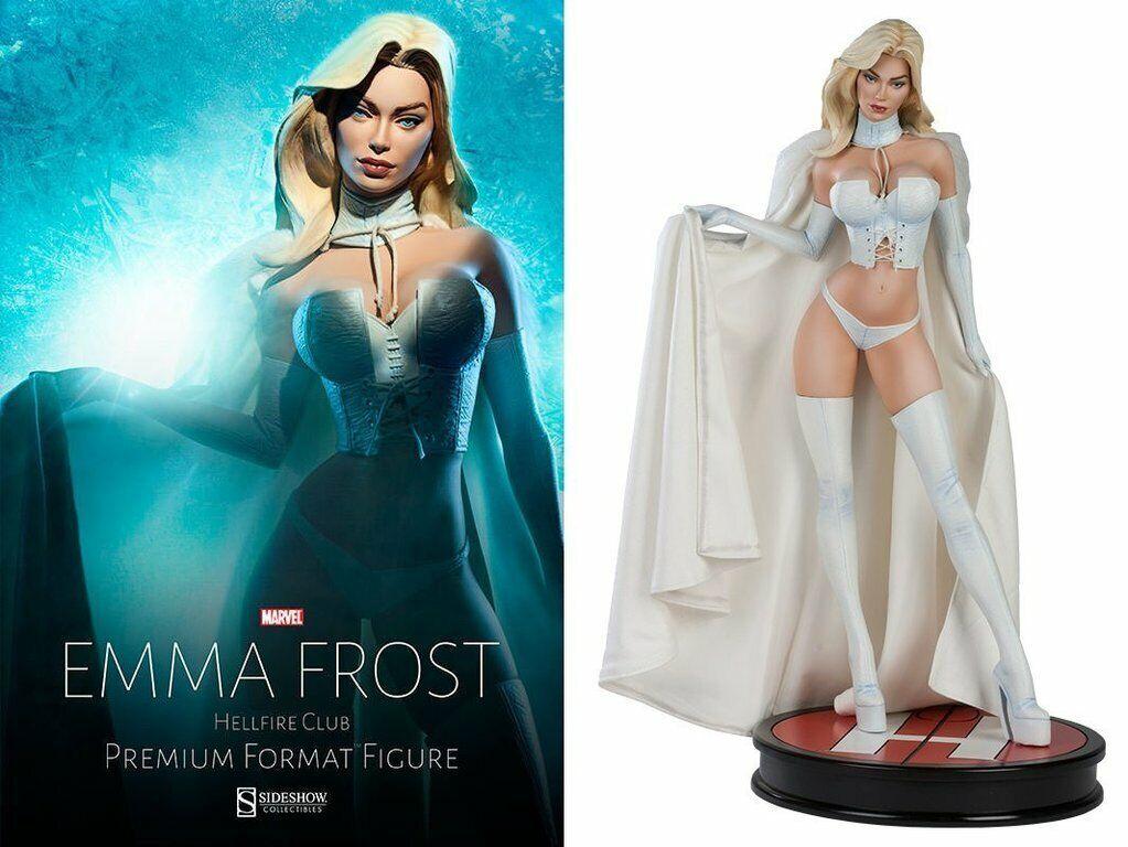 Emma Frost Hellfire Club Premium format SideShow, hombre.