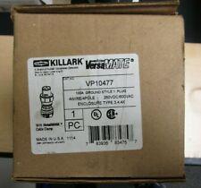 Hubbell Killark Vp10477 Plug 100a 4 Pole