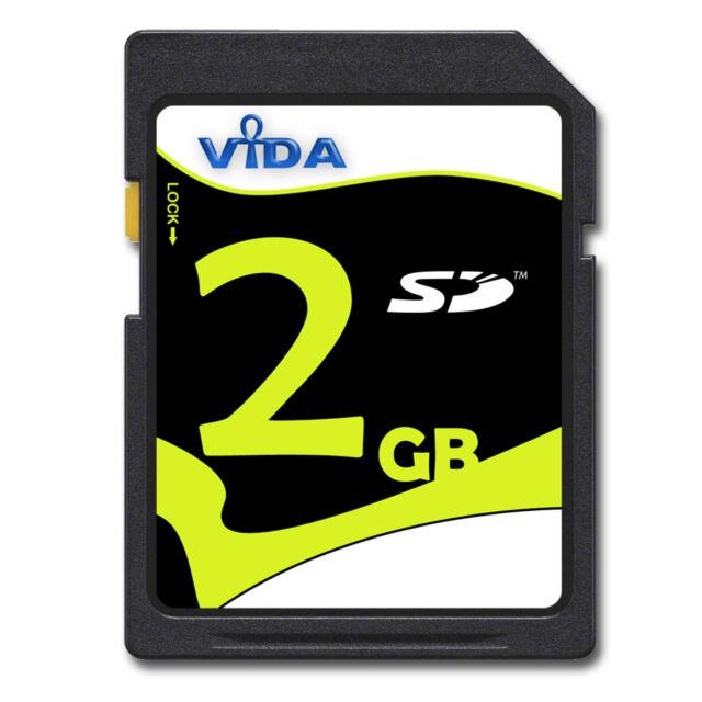 Nuovo 2GB SD Scheda Di Memoria per Konica Minolta DiMAGE X1 X31 X50 X60 Xg