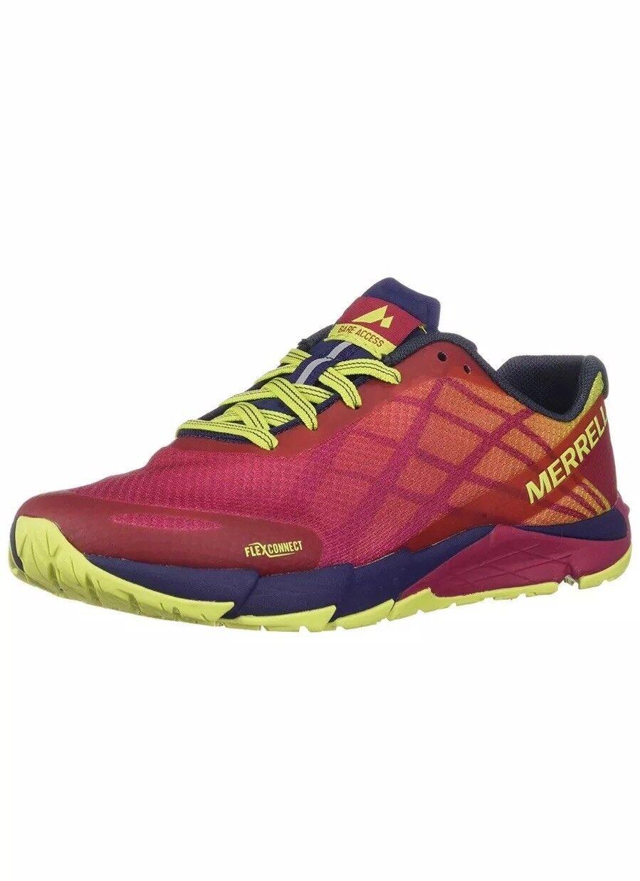 Merrell Bare Access Flex Fitness shoes  (Persian Red), UK 4 EU 37 (J12618)