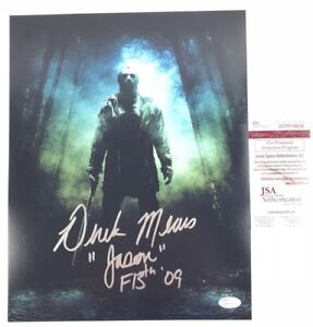 DEREK MEARS signed 11x14 Photo JASON VOORHEES Friday the ...