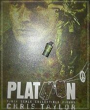 1/6 Hot Toys Platoon Chris Taylor MMS135 smoke Granade**US Seller**