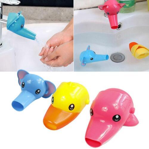 Baby Fun Wasserhahn Extender Tier Brunnen Wasserhahn Waschbecken Wannen Kinder