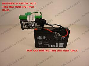 Phenomenal Peg Perego Super Slim Replacement 6 Volt 7 Ah Battery W Wires Wiring Cloud Battdienstapotheekhoekschewaardnl